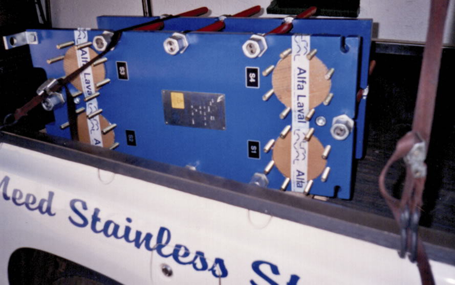Stainless trading plate heat exchangers
